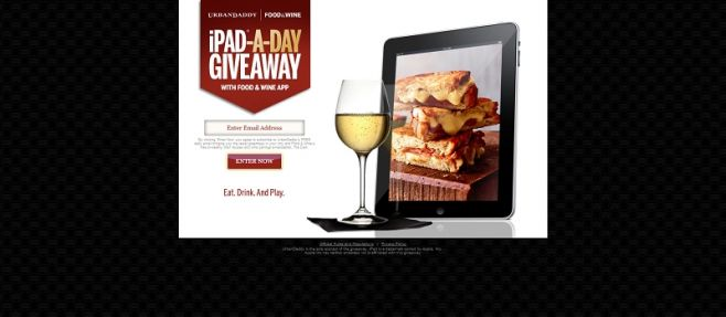 iPad a Day Giveaway
