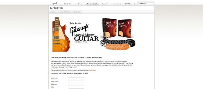 Learn & Master Guitar Contest