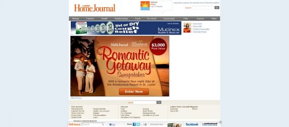 Romantic Getaway Sweepstakes