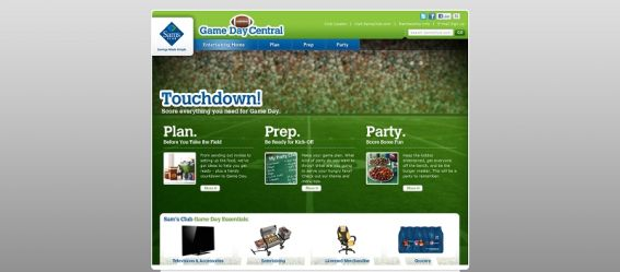 Sam's Club Game Day Central Sweepstakes