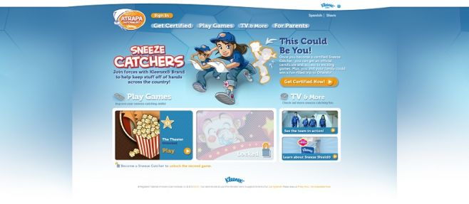 Kleenex Brand Sneeze Catcher Sweepstakes
