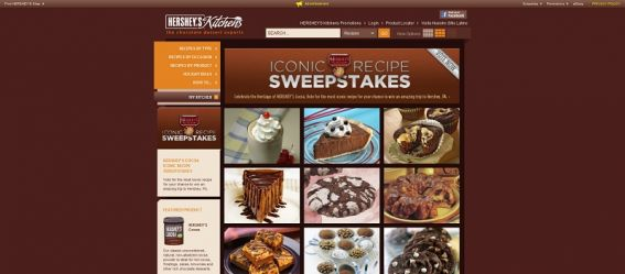 hersheyskitchens.com – HERSHEY'S Baking Cocoa Iconic Recipe Sweepstakes
