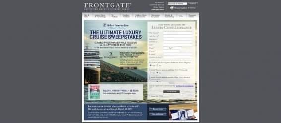 Ultimate Luxury Cruise Sweepstakes
