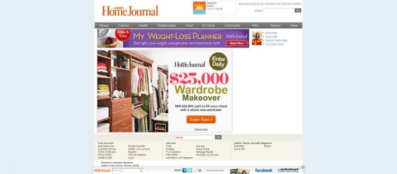 LHJ.com $25,000 Makeover Sweepstakes