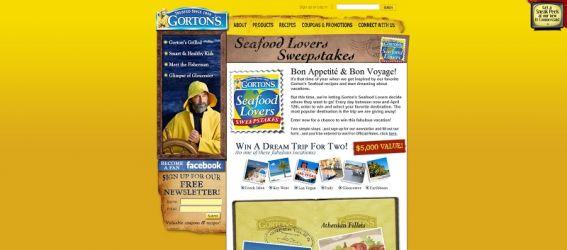 Gorton's Seafood Sweepstakes