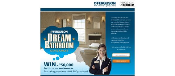 Ferguson Dream Bathroom Giveaway