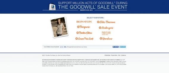 millionactsofgoodwill.com – Million Acts of Goodwill Instant Win Game and Sweepstakes