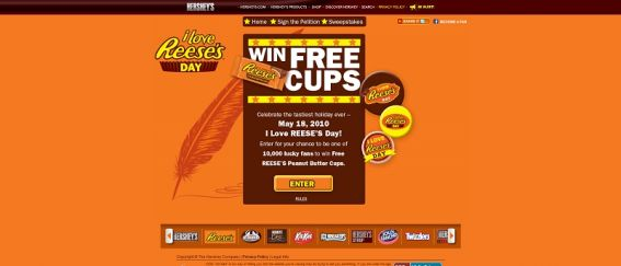 ILoveReesesDay.com – I Love REESE'S Day Sweepstakes