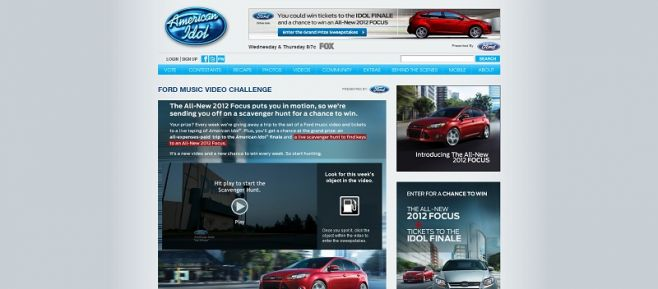 Ford Music Video Challenge
