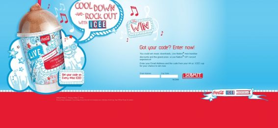 iceemusic.com – ICEE & Live Nation Cool Down Rock Out Instant Win Game