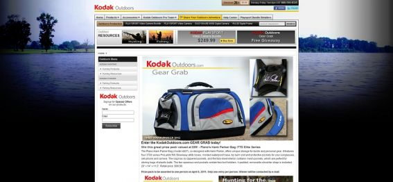 KodakOutdoors.com GEAR GRAB 3