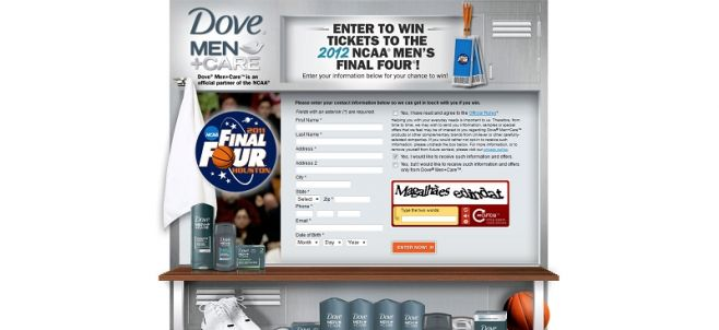 dovemensweeps.com – Dove Men+Care Sweepstakes