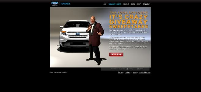 It's Crazy Ford Explorer Giveaway
