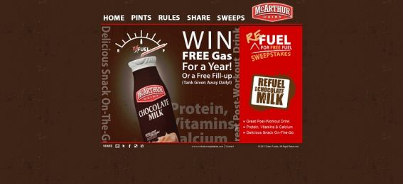 Refuel with Free Fuel Sweepstakes