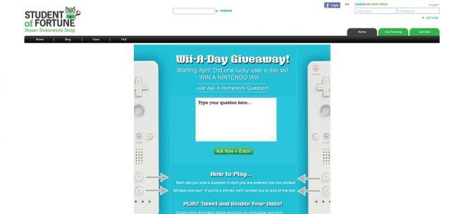 Nintendo Wii Giveaway Sweepstakes