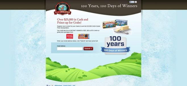 100 Years, 100 Days of Winners Sweepstakes