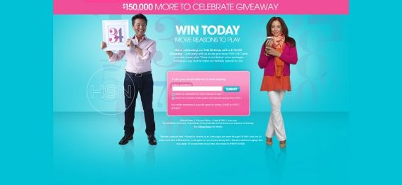 HSN $150,000 More to Celebrate Giveaway