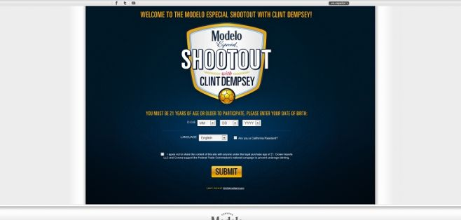 Clint Dempsey Shootout Sweepstakes