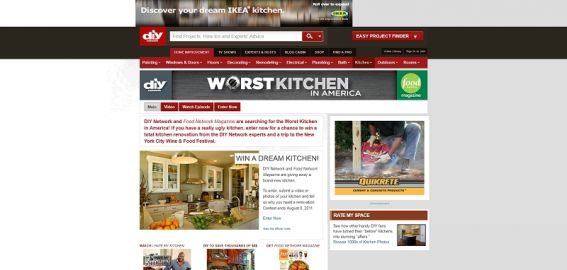 Do It Yourself Network's Worst Kitchen in America Contest