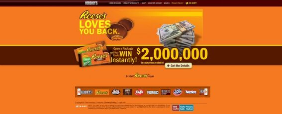 reeses.com/lovesYouBack – REESE'S LOVES YOU BACK