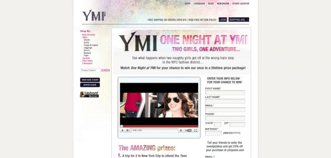 One Night at YMI- Two Girls, One Adventure