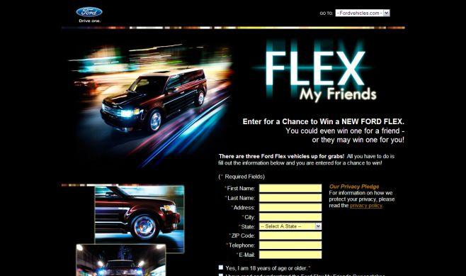 Ford Flex My Frien