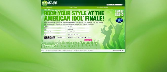 Garnier Fructis Rock Your Style Sweepstakes