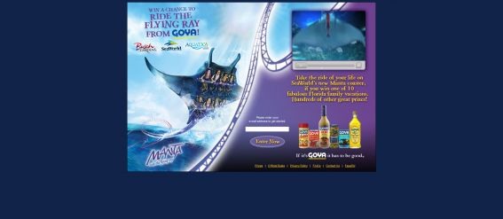 Goya Worlds of Discovery Summer Sweepstakes