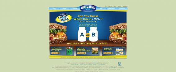 Hellmann's Taste Test Grocery Sweepstakes