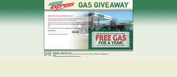 Hess Corporation Gas Giveaway