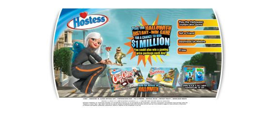Hostess Instant Win Game & Chance For $1 Million Dollars Sweepstakes