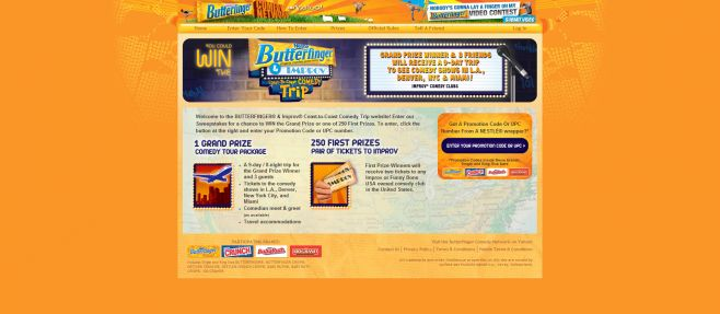Nestle Comedy Tour Sweepstakes
