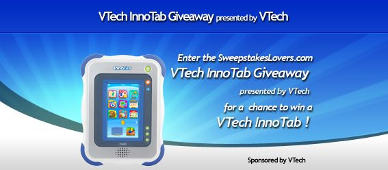 SweepstakesLovers.com VTech InnoTab Giveaway presented by VTech