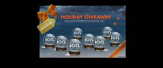 ION Television's Match and Play Holiday Giveaway Sweepstakes
