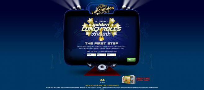 Kraft Golden Lunchables Awards Contest & Sweepstakes