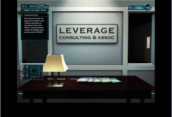 Leverage $100,000 Mission Sweepstakes