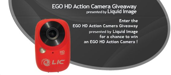 EGO HD Action Camera Giveaway presented by Liquid Image