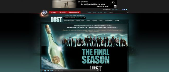 LOST The Final Season Sweepstakes