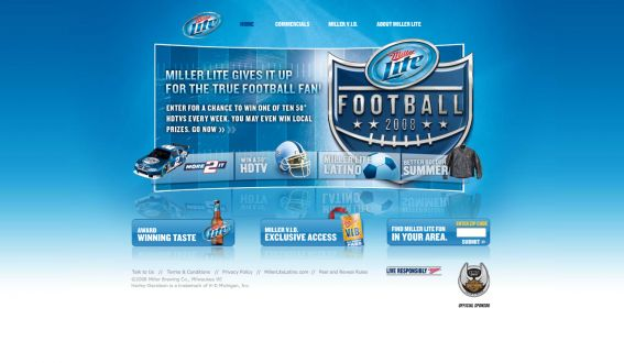 Miller Football Season Sweepstakes