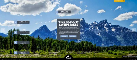 This Is Your Land Sweepstakes