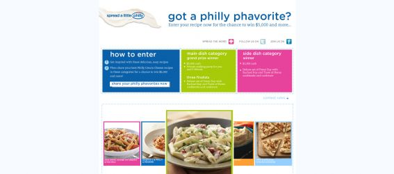 Philadelphia Cream Cheese Recipe Contest