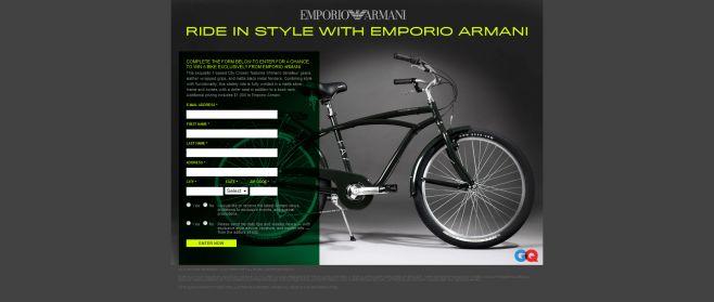 Emporio Armani Sweepstakes