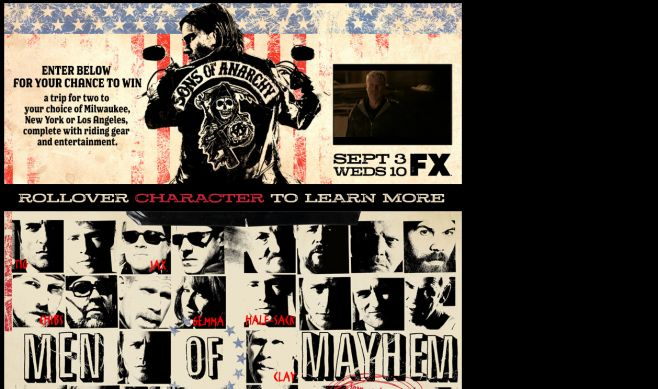 Sons of Anarchy Sweepstakes