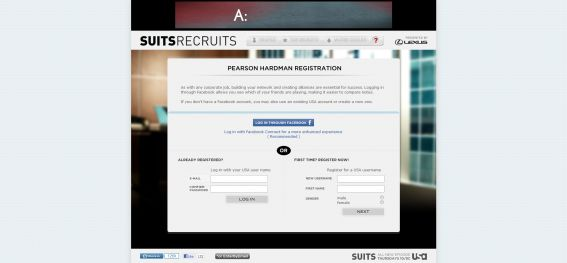 suitsrecruits.com – Suits Recruits Sweepstakes