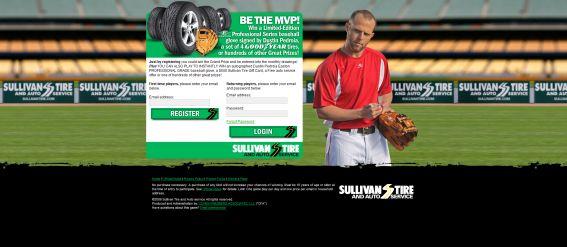 Sullivan Tire MVP Scratch, Match & Win Game