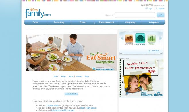 The Eat Smart Sweepstakes