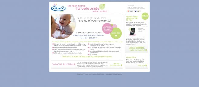 Graco The Heart Knows Sweepstakes