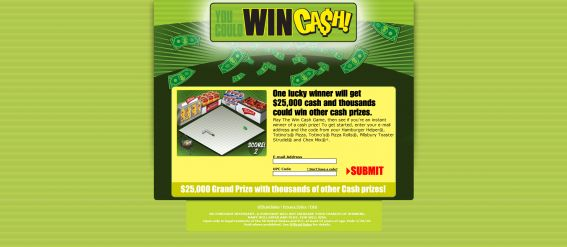 General Mills Win Cash Game