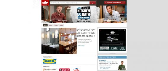 DIY Ultimate Kitchen & Bath Giveaway Sweepstakes