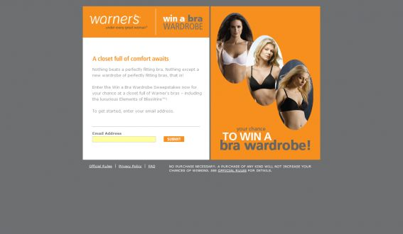 Win a Bra Wardrobe